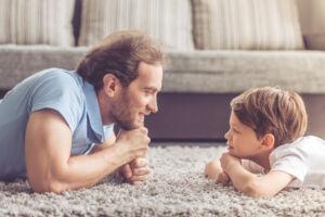 isä ja poika vastakkain